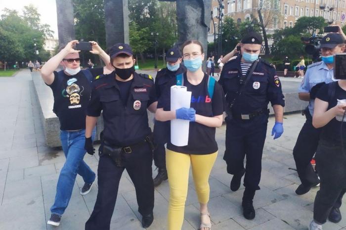 Пикетвумэн-018. Анна Щетникова