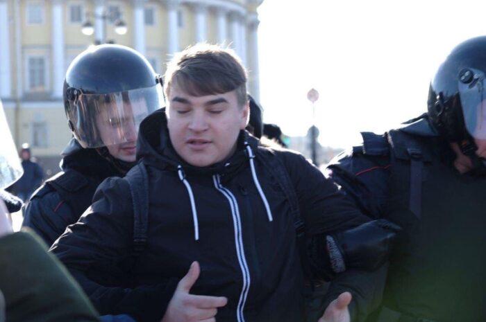 Пикетмэн-015. Максим Леонов