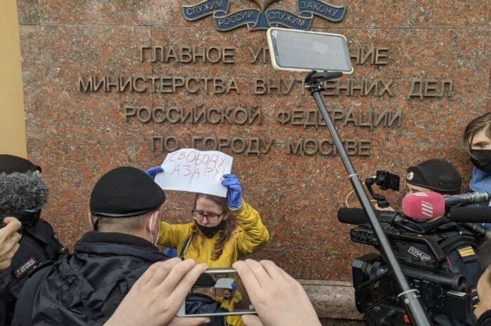 Пикетвумэн-012. Кристина Тимакова